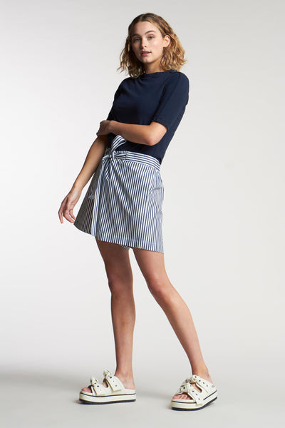 Article Stripe Short Mid Stripe Ink