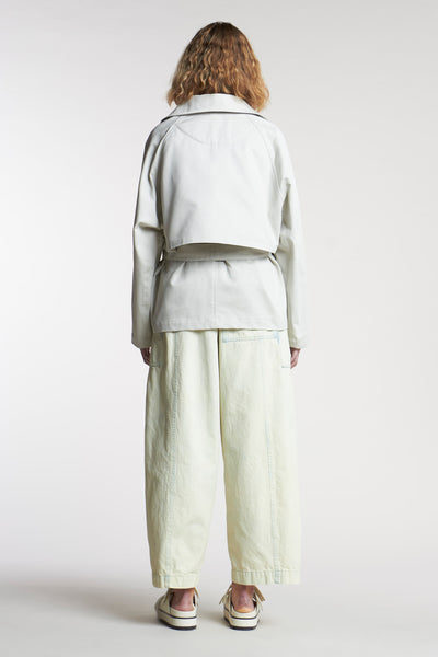 Autre Short Trench Mist Canvas