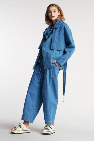 Autre Short Trench Denim
