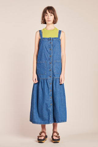 Specture Denim Dress Mid Wash Denim