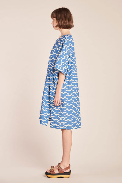 Aqua Tiger Dress Marine Print
