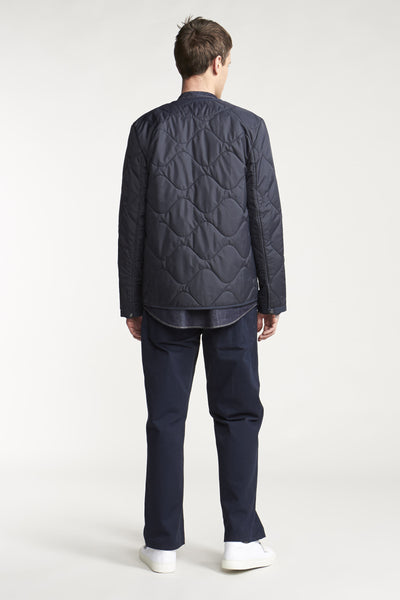 Ripples Liner Jacket Ink Navy