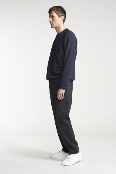 Quantum Patch Pullover Ink Navy
