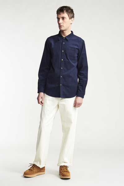 Gauge Corduroy Shirt Ink Navy