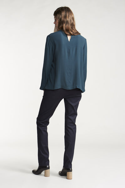 Cosmos L/S Top Teal