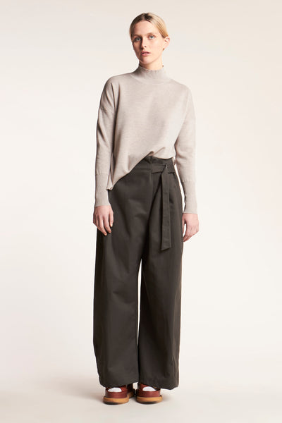Vela Relaxed D-Ring Pant Dark Olive