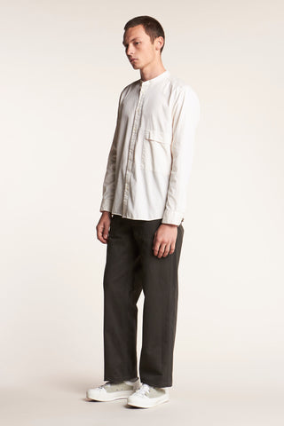 Secure Band Collar Shirt Birch