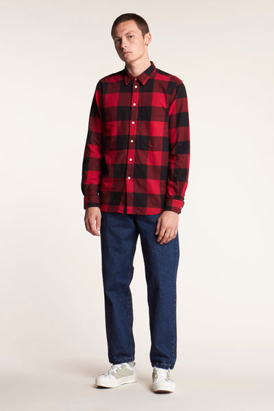 Nuance Front Pocket Shirt Check