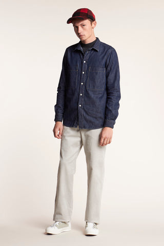 Nuance Front Pocket Shirt Denim