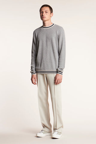 Synergy Knit Grey Melange