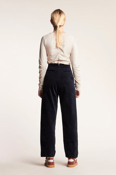 Focus Pleat Pant Ink