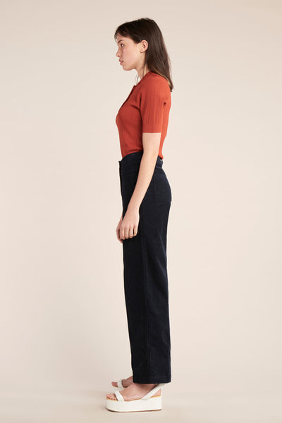 Shift SS Knit Polo Sienna