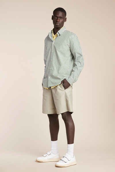 Loyal Oxford Shirt Mid Stripe Sycamore