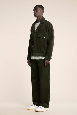 Conclusion Cord Jacket Moss