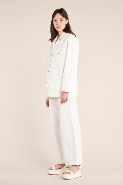 Conform Denim Jacket White Denim