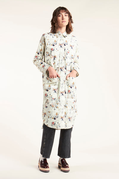 Finale Pocket Dress Understudy Print