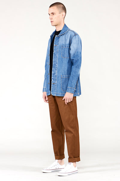 Chore Jacket Washed Denim