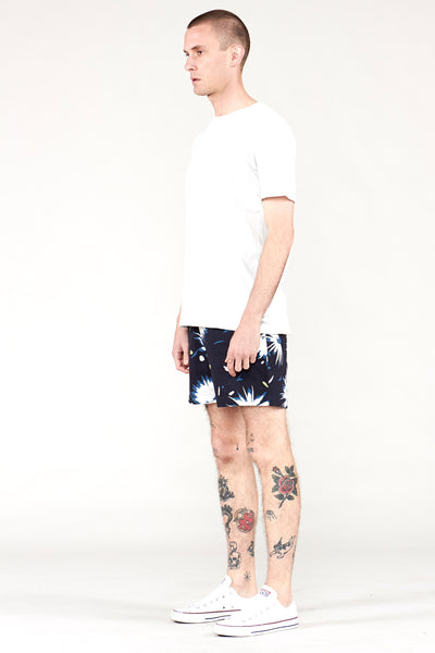 Fontaine Short Navy Floral