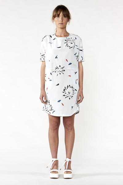 Night Bloom Dress Ice Print