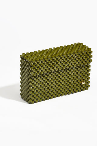 Cocktail Clutch Orchard (Khaki with Multi Base)