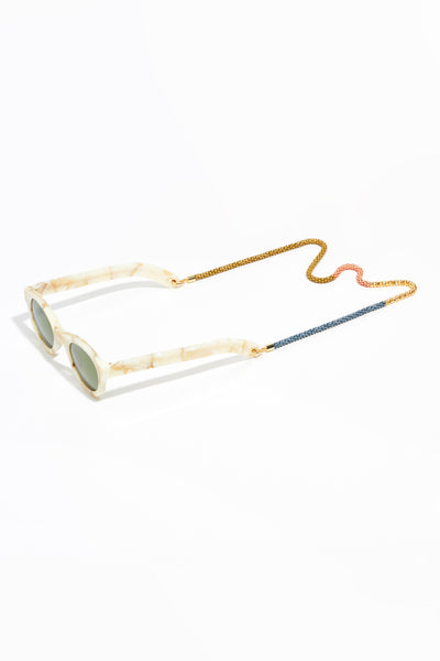 Mirage Eyewear Chain-Gold, Grey, Peach, Mustard