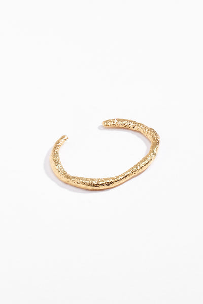 Dough Cuff Yellow Gold