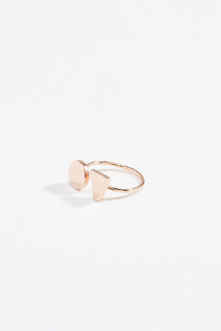 Tough Love Ring Rose Gold
