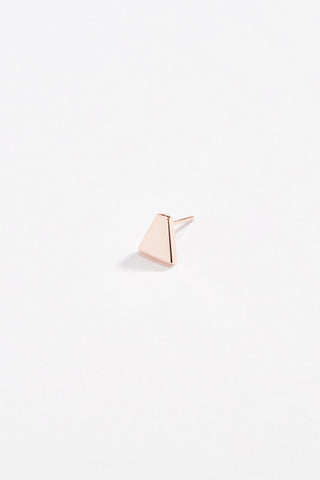 Aztec Stud Earring Rose Gold
