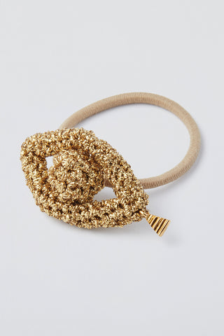 Phoenician Eyes Hair Tie - Gold