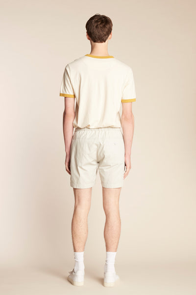 Vanish Ringer Tee Ecu with Ochre