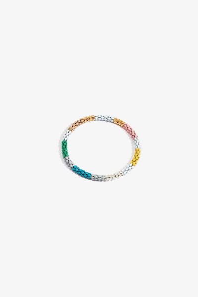 Salacia Chain Bracelet - Silver & Gold - Medium
