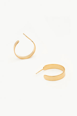 Two Hills Earring No.11 - Gold Plate