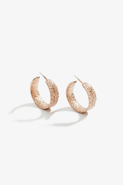 Anchovy Hoop Earring Rose Gold