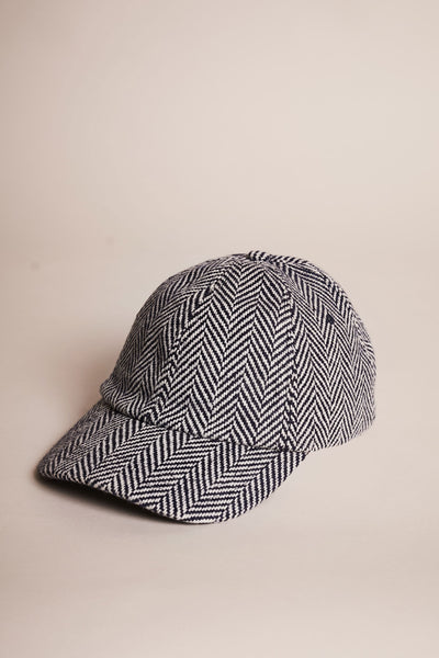 Allure Cap Herringbone