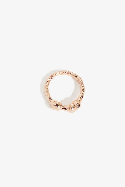 Dough Knot Ring Rose Gold