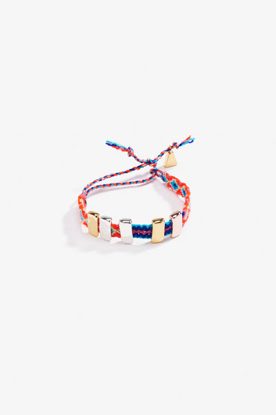 Dowry Friendship Band Silver, Rose & Yellow Gold