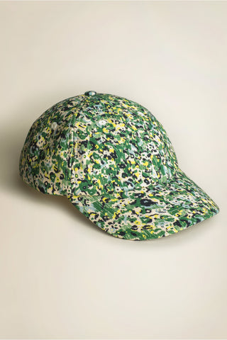 Cosmic Cap Blue / Green Floral