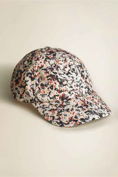 Cosmic Cap Lilac / Red Floral