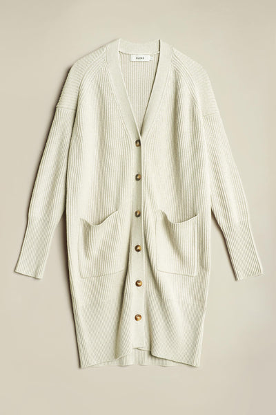 Skywave Cardigan Bone