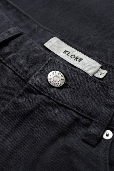 Ilk Zip Jean Black