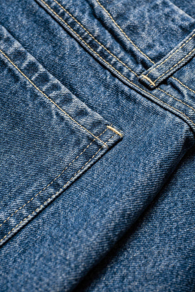 Interval Front Pocket Jean Mid-Wash Indigo Denim