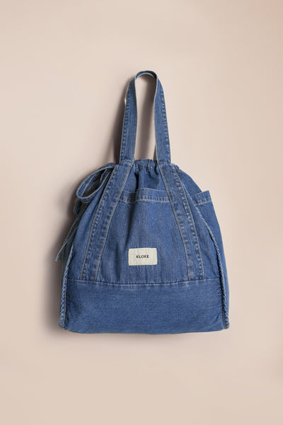 Fontain Tote Mid Wash Denim