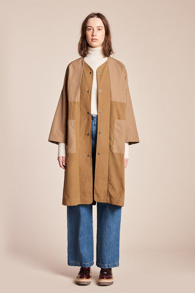 Force Rain Coat Tan