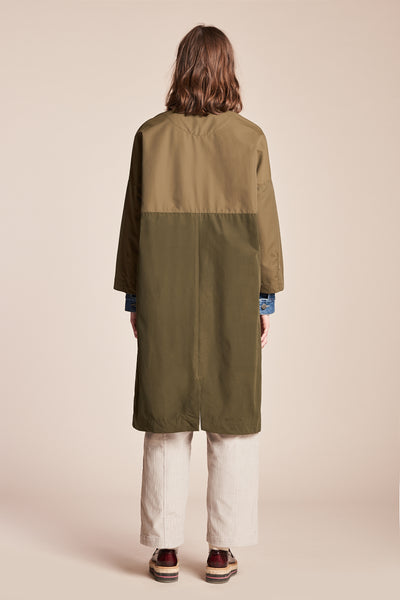Force Rain Coat Olive