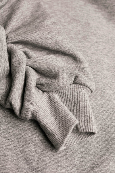 Fuse Ruched Sweat Grey Marle
