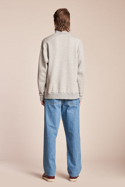 Ground Sweater Grey Marle