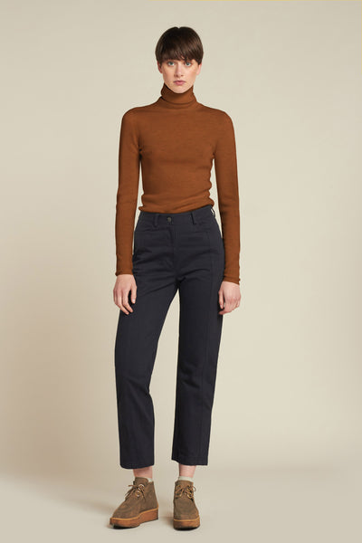 Heroic Turtleneck Rust