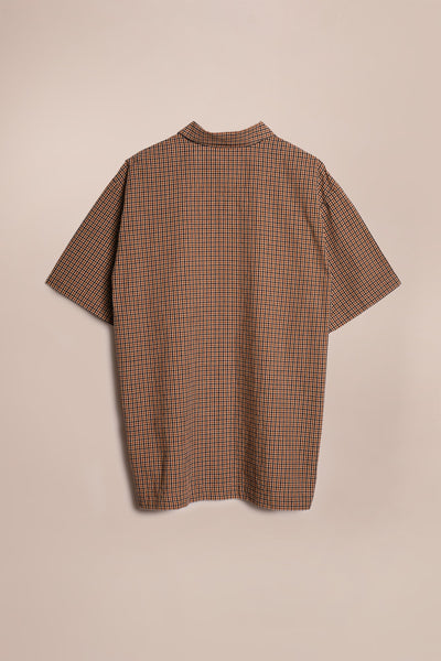 Juncture S/S Shirt Sand Plaid