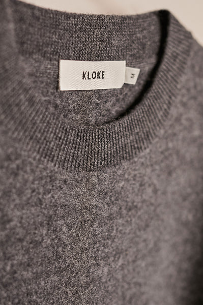 Advance Boiled Sweater Charcoal