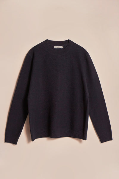 Advance Boiled Wool Sweater Ink